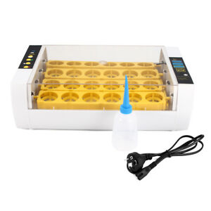 80w 24 Position Digital Mini Fully Automatic Poultry Incubator Eggs Poultry Hatc