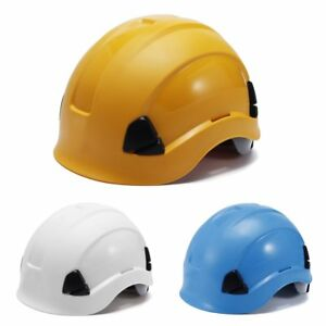 Abs Safety Helmet Construction Climbing Steeplejack Workers Protective Hard Hats