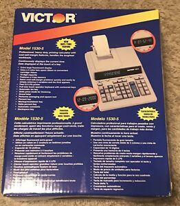 New Victor Technology 1530 5 Victor 1530 5 Professional Heavy Duty Calculator