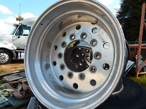 22 5 Aluminum Super Single Rims 0 2 5 Off Sets 7 Available