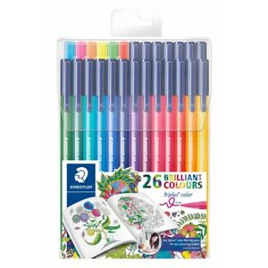 Staedtler 26 Triplus Fiber tip Color Pens For Adults Johanna Basford Adult Col