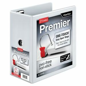 Cardinal Premier Easy Open 3 ring Binder 5 One touch Easy Open Locking Slant