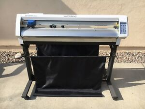 Roland Camm 1pro Model Gx 400 40inch Vinyl Cutter Local Pickup