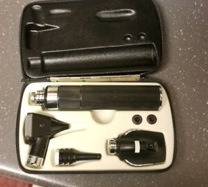Welch Allyn Diagnostic Set 11600 Ophthalmoscope 25000 Otoscope 71050 Handle