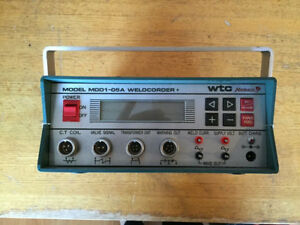 Nadex Wtc Nadesco Model Mdd1 05a Weld Corder Used Working