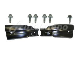 Front Bumper Side Extension Mounting Bolt Set For Chevy Silverado 1500 2007 2013