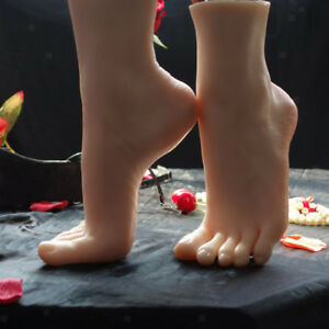 Realistic Women Foot Display Mannequin Feet Model For Display Shoes Nail Art