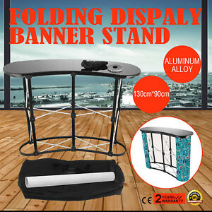 Podium Pop Up Table Counter Stand Promotion Retail Trade Show Display