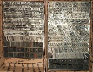 L k Vintage 48pt Grayda Letterpress Foundry Type Large Set Printing Antique 1