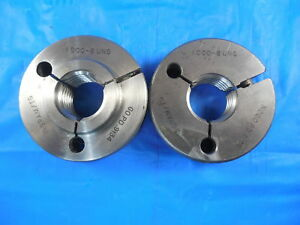 1 8 Uns Thread Ring Gages 1 000 Go No Go P d s 9134 9100 Inspection Tools