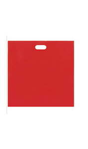 2 500 Wholesale 20 Low Density Red Plastic Merchandise Shopping Bags