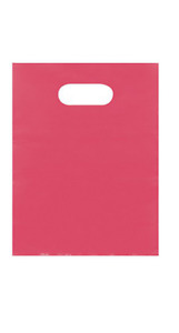 5 000 Wholesale 12 Low Density Pink Plastic Merchandise Shopping Bags