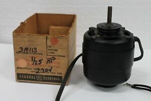 Ge 5ksp11dg904s Electric Motor Mhp25 208 230v 1550rpm Ccw 3m113 Usa