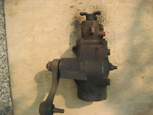 1972 C7ar3a587a Ranchero Torino Power Steering Gear Box With Pitman Arm