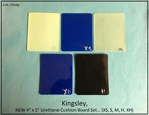 Kingsley Machine 5pc Set Urethane Cushion Boards Hot Foil Stamping Machine