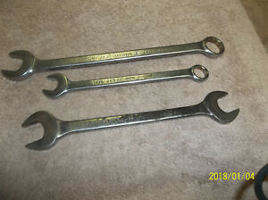 3 Big Bonney Hand Wrenches