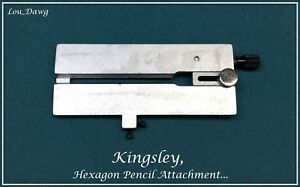 Kingsley Machine Hexagon Pencil Attachment Hot Foil Stamping