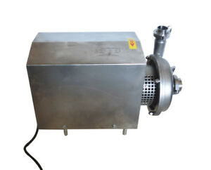 Food Grade Centrifugal Pump Sanitary Pump 10 Ton h Delivery 304 Stainless Steel