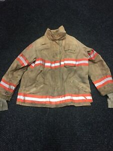 Securitex Firefighter Jacket Coat Bunker Turn Out Gear Size 50 Regular