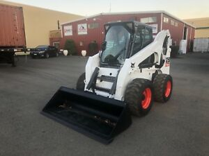 Bobcat S250 Skid Steer Wheel Loader Kubota Cat Kubota Diesel Tractor W Heat