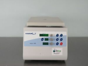 Vwr Micro 18r Refrigerated Centrifuge With Warranty See Video