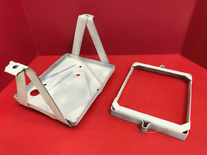 1941 1958 Chevrolet Passenger Car Battery Tray And Hold Down Original