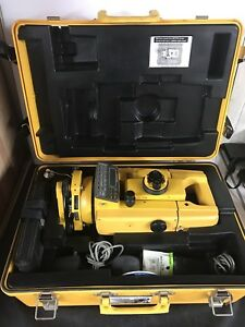 Topcon Gts 2r Theodolite Total Station Land Survey Scope In Case