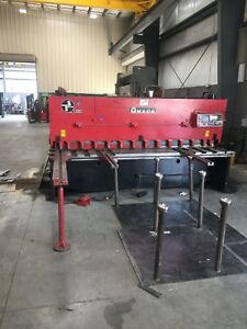 Amada H 3065 1 4 X 10 Hydraulic Shear W Power Backgauge Squaring Arm