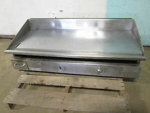 keating 48bnfld Hd Commercial 48 miraclean Thermostatic Lp Gas Griddle