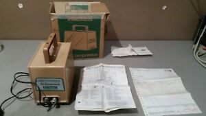 Vintage Devilbiss Air Compressor Series 571 Original W Papers And Box Free Ship