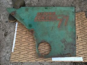 Oliver 77 Gas Row Crop Right Side Panel Antique Tractors
