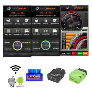 Cell Phone Bluetooth Wifi Obd2 Auto Scanner Code Reader Engine Check Diagnostic