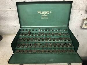 Ward Machinery Punch And Die Set Original Storage Case Sheet Metal Punch Set