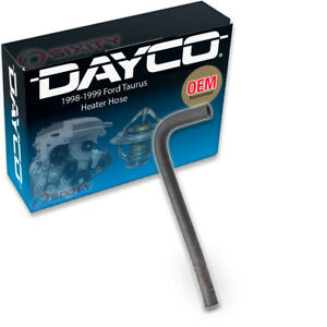 Dayco Heater Hose For 1998 1999 Ford Taurus 3 0l V6 Thermostat To Tee Hvac Zp