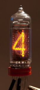1x In 1 In 28 Nixie Tube For Digital Clock Nos Tested See Variations