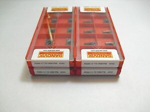 Genuine R390 11 T3 16m Pm 4240 Sandvik Insert 10pcs