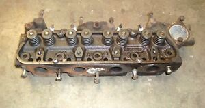 Ford Industrial Engine Ksg416 2274e 1 6l Gas Cylinder Head Assembly 731f6085taa