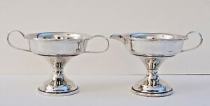 Vintage Matching R S Co Weighted Sterling Silver Creamer And Sugar Bowl Set