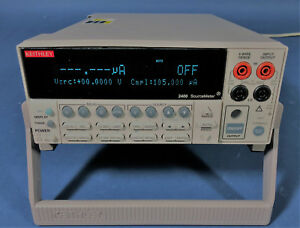 Keithley 2400 Sourcemeter smu 200v 1a 20w includes New Nist Calibration