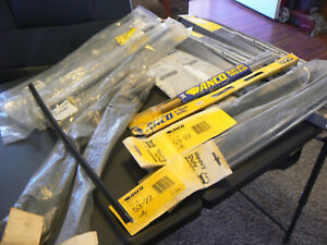 Lot Of 16 Misc Windshield Wiper Blades Arms Gm Ford Anco Bosch Car Truck Bus Nos