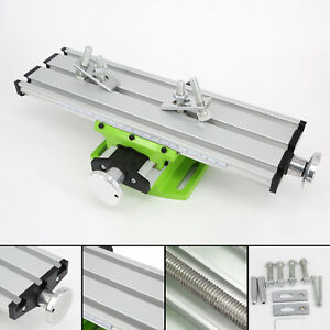 1pc Worktable Milling Machine Double Track Compound Bench Drill Press Fixture