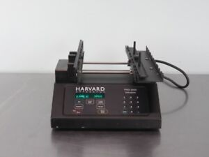 Harvard Phd 2000 Syringe Pump Infusion With Warranty See Video