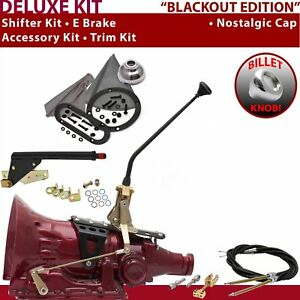 Fmx Shifter Kit 12 E Brake Cable Trim Kit For F09b4 Automatic 440 Chevy Truck