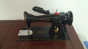 1952 Antique Singer Sewing Machine With Table