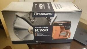 Husqvarna New K760 14 Concrete Cutoff Saw blade Not Included