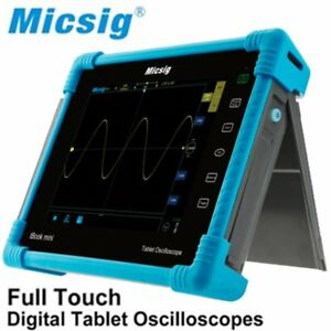 To1104 Digital Tablet Oscilloscope 4 Channels Touchscreen Auto Measurements Nic