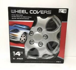 Kt Wheel Covers 14 Inch Set Of 4 New