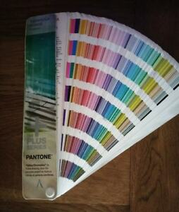 Pantone The Plus Series Formula Guide Coated 2nd Edition 2nd Printing Book Used