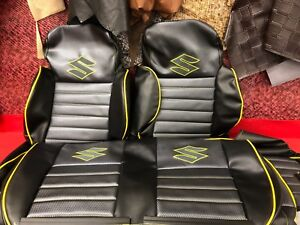 1986 1995 Suzuki Samurai Kit Seat Covers And Front Door Panel Skins