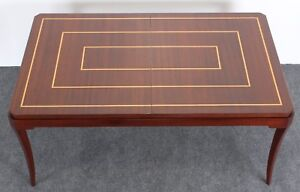Tommi Parzinger Originals Dining Table With Two Leaves 1960s